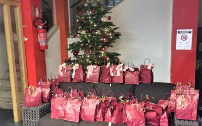 Weihnachtspakete für Obdachlose in Meran